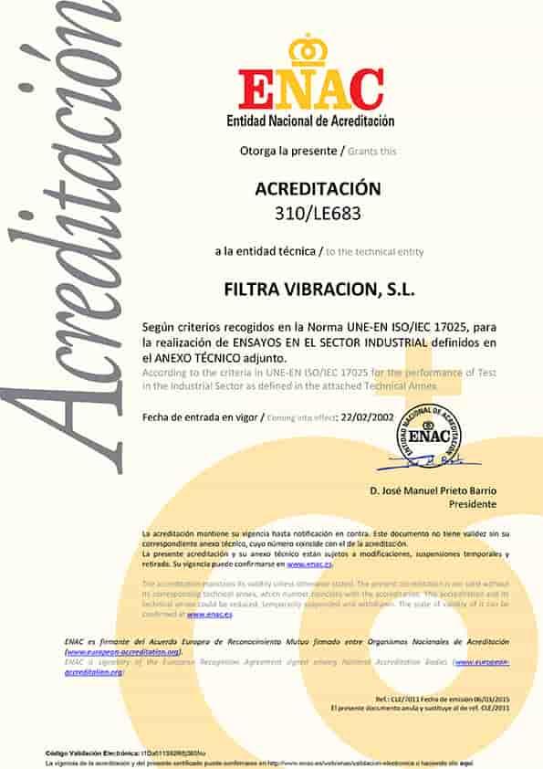 Acreditacion ENAC